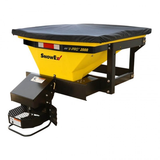 Wessex v pro spreaders bed mounted