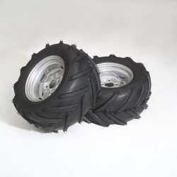 Countax chevron tyres