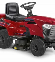 Battery operated ride-on mowers